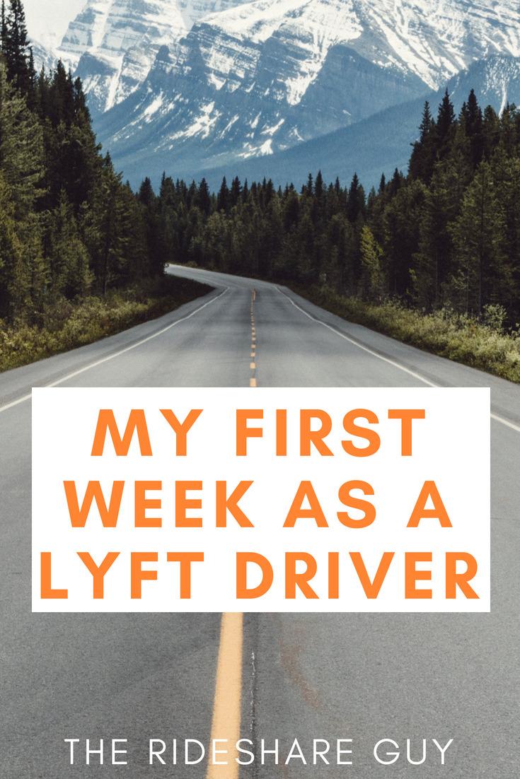 My First Week as a Lyft Driver