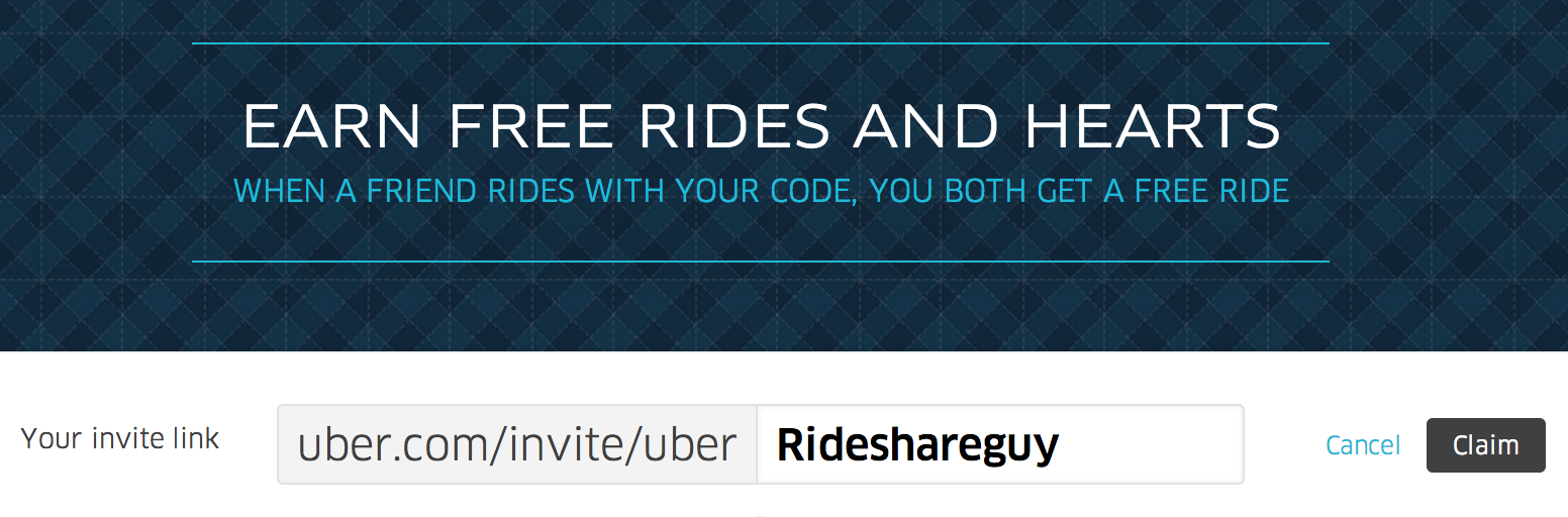 How to personalize your uber passenger referral code uber passenger referral code personalize magicingreecefo Image collections