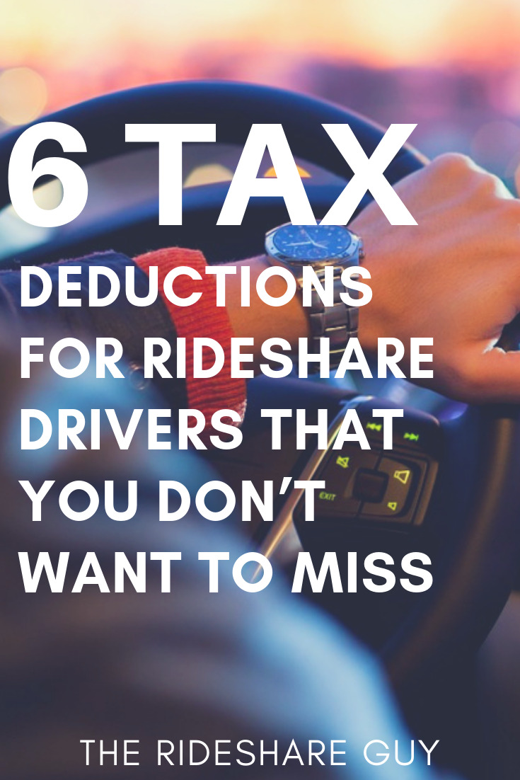 6 Uber Tax Deductions You Don't Want To Miss This Year