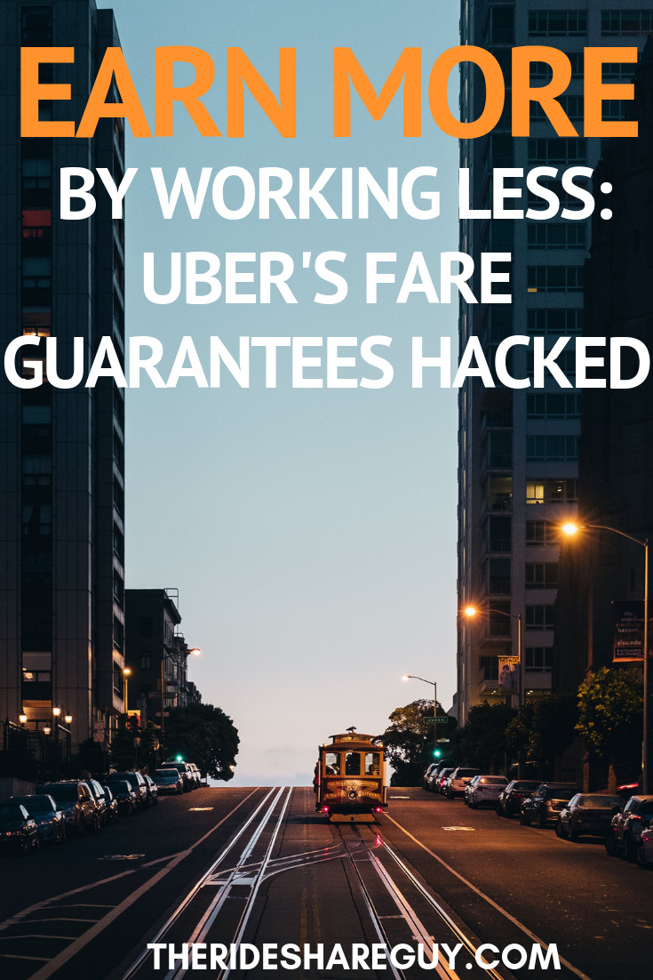 Earn More By Working Less: Uber's Fare Guarantees Hacked