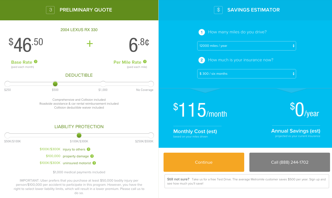 Drivers Insurance Quote | Metromile Review Does It Solve The Rideshare Insurance Problem For