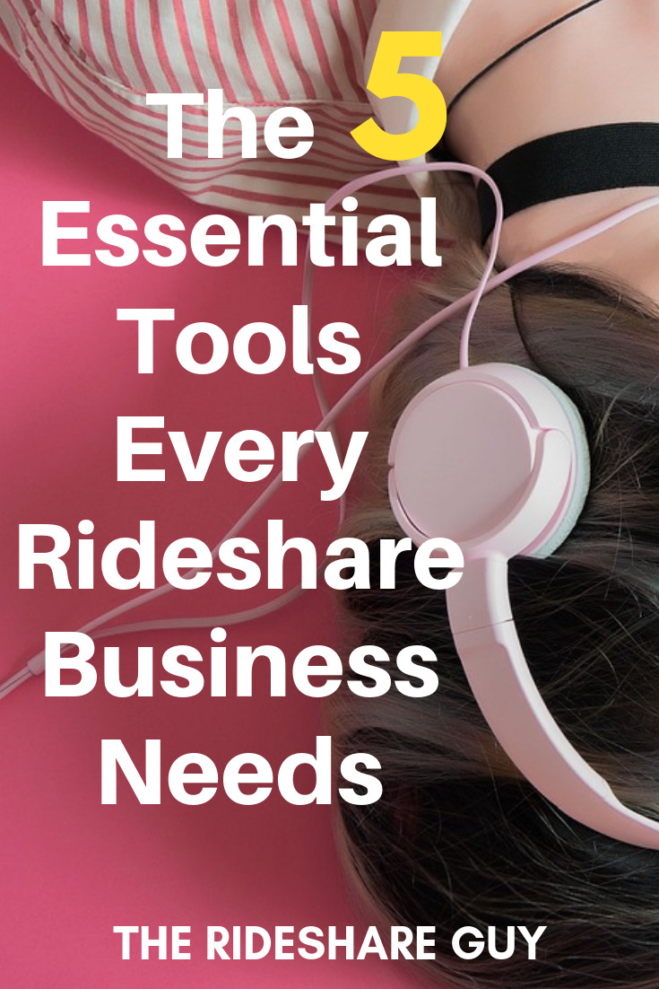 The 5 Essential Tools Every Rideshare Business Needs