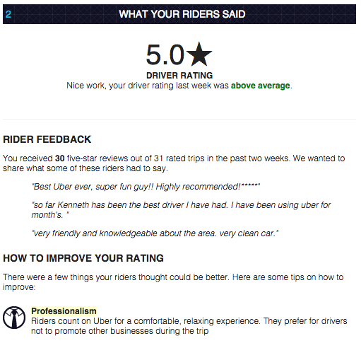One Quick Tip To Boost Your Uber Driver Rating