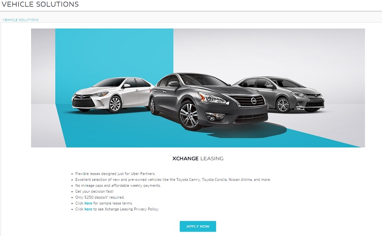 Leasing A Car Through Uber >> How To Get The Best Deal With The Xchange Leasing Program ...