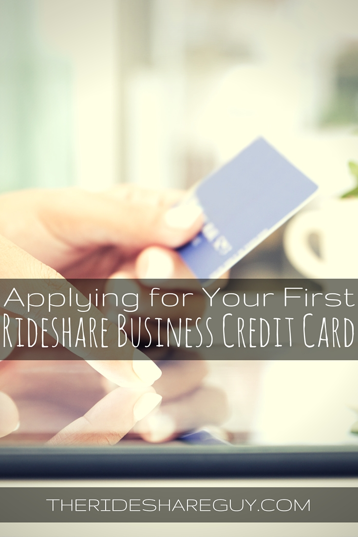Day 3: Applying For Your First Rideshare Business Credit Card