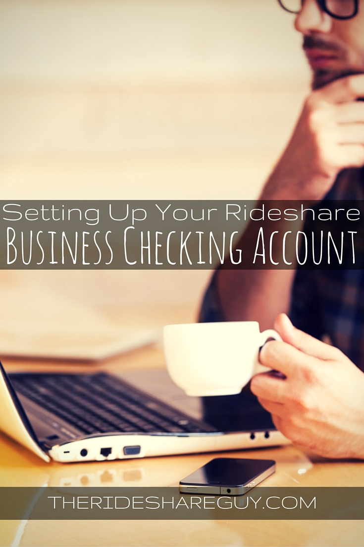 Day 2: Setting Up Your Rideshare Business Checking Account
