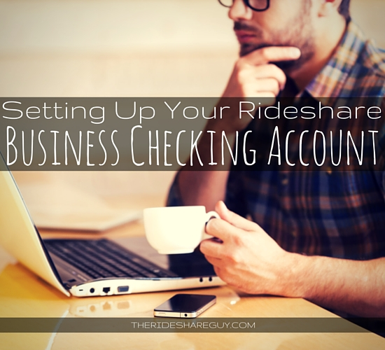 Now that you're a business owner it's important that you use a business checking account in order to separate personal transactions from your business'.