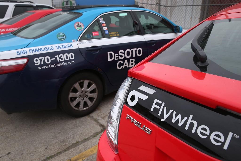Desoto Cab and Flywheel Prius