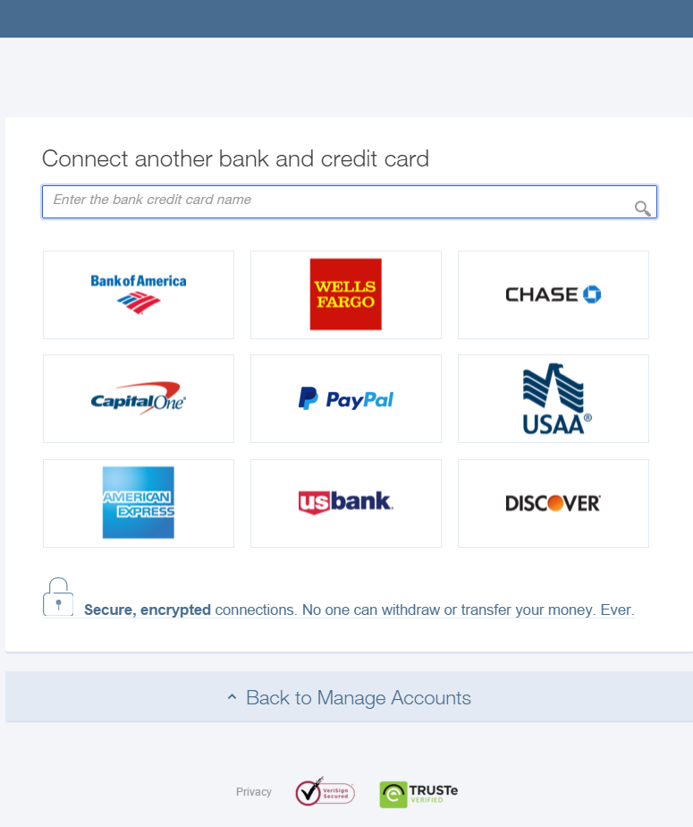 Sync With Bank