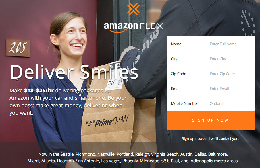Want More Freedom And Flexibility? Try Amazon Flex!