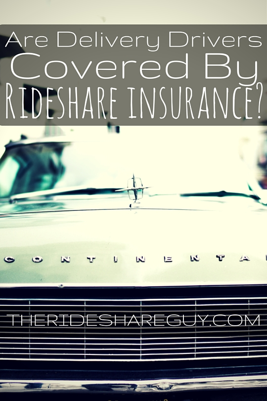 Uber Lease Car >> Are Delivery Drivers Covered By Rideshare Insurance?
