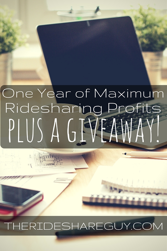 One Year Of Maximum Ridesharing Profits (And A $485 Giveaway)
