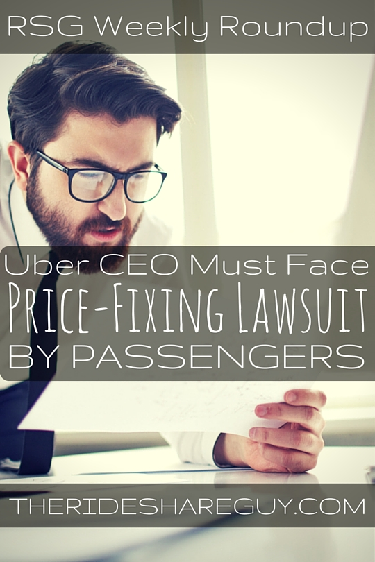 In this week's round up, John Ince covers a price-fixing lawsuit brought by passengers and more!