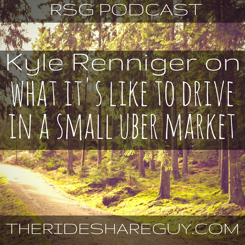 RSG040: Kyle Reninger On Driving For Uber In A Super Small Market