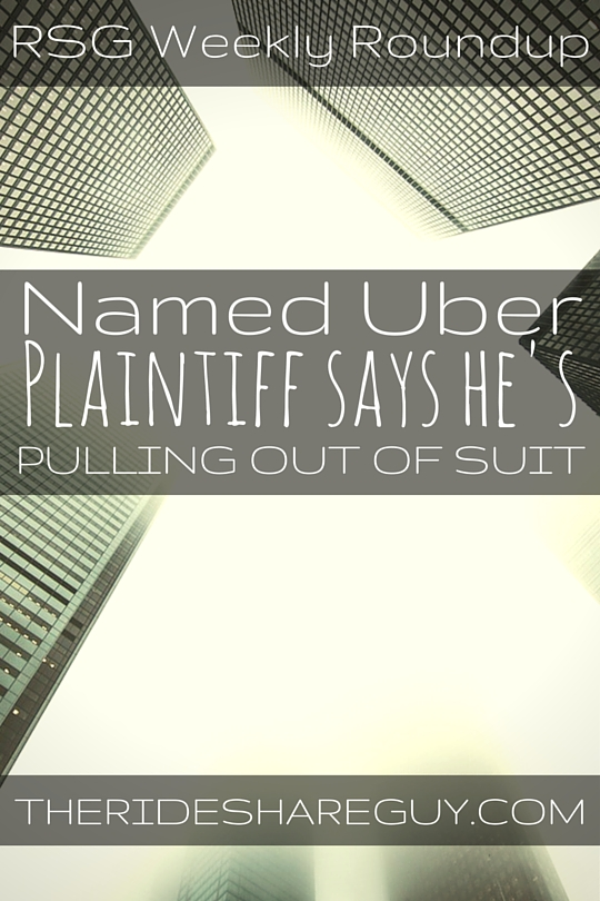 This roundup updates us on the latest with the Uber plaintiff lawsuit settlement, some reaction out of Austin over Uber/Lyft's recent ban, & more.