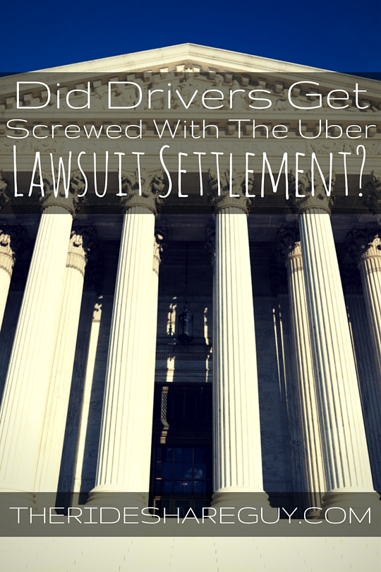 Our summary of the Uber lawsuit settlement, including a summary of the verdict and a handy FAQ for readers. Questions? Leave a comment!
