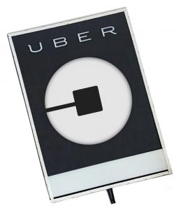 Uber Light Up Sign