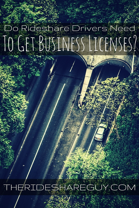 What's up with business licenses and rideshare driving? Ryan tells us what rideshare drivers need to know about business licenses.