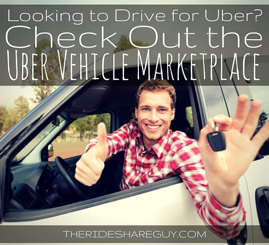 Want to drive for Uber but don't have an eligible vehicle? The Uber Vehicle Marketplace will help you find the right vehicle to get you on the road fast.