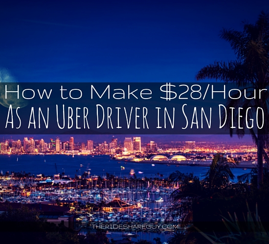 Think it's impossible to maximize your driving with all of Uber's rate cuts? A driver in San Diego shows how he makes $28/hr - rate cuts and all!