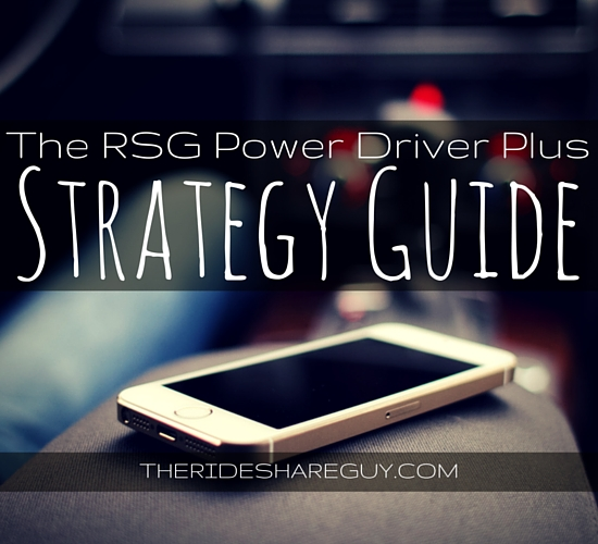 Uber Lease Car >> RSG Power Driver Plus Strategy Guide