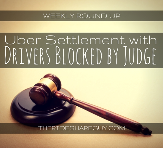 This week's roundup covers the latest Uber ruling, Uber's lawsuits, and gives us a good look at the true earnings of an Uber driver by BuzzFeed