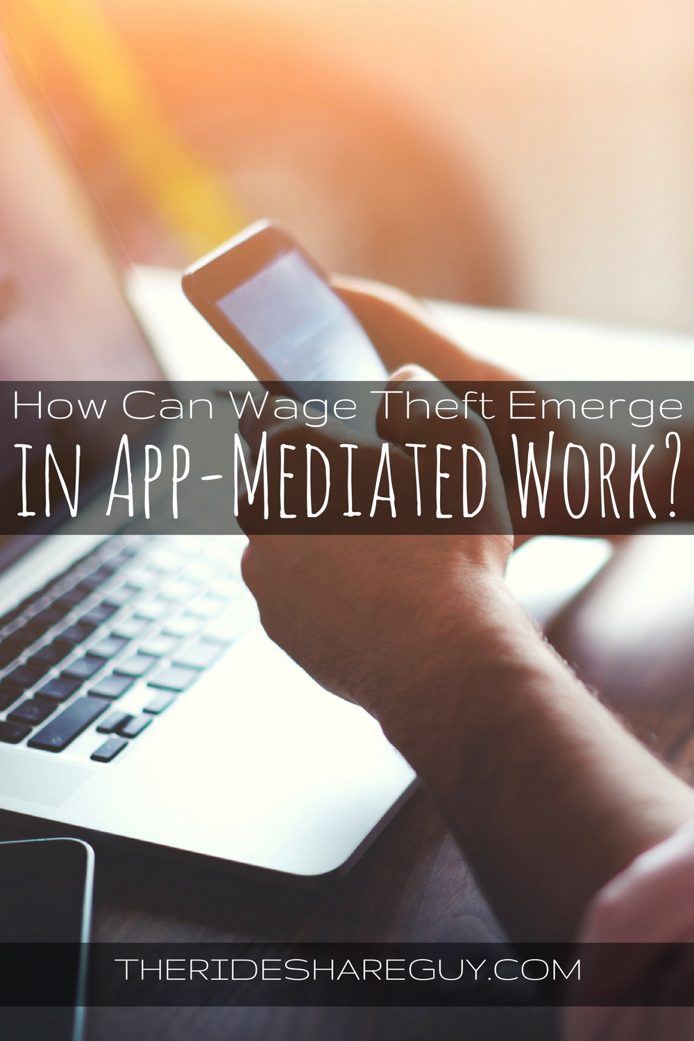 How Can Wage Theft Emerge in App-Mediated Work?