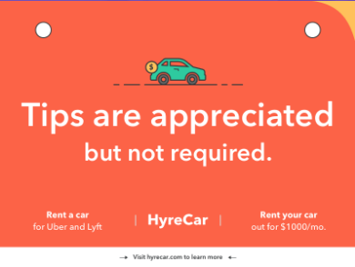 I Added A Tip Sign To My Uber Heres What Happened - Car sign meaningsfunny alternative road signs car keys