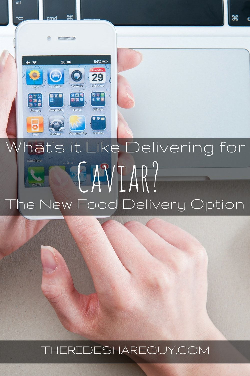 Uber Lease Car >> Caviar Driver - What's It Like To Be a Courier for Caviar?