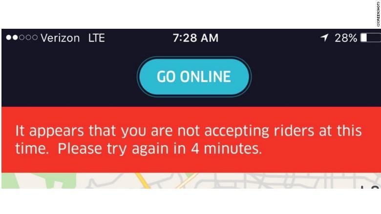 Uber Timeout Screenshot - CNN