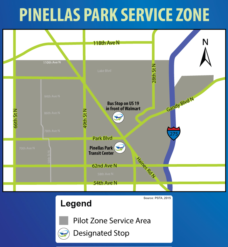 psta-and-uber-pinellas-park-service-zone