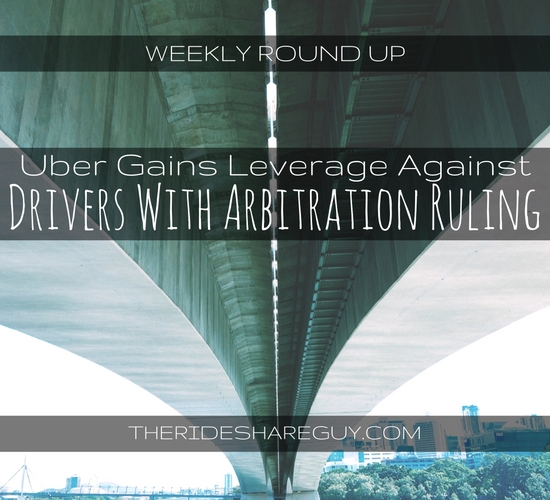 In this round up. John Ince covers a bad Uber ruling for drivers and more!