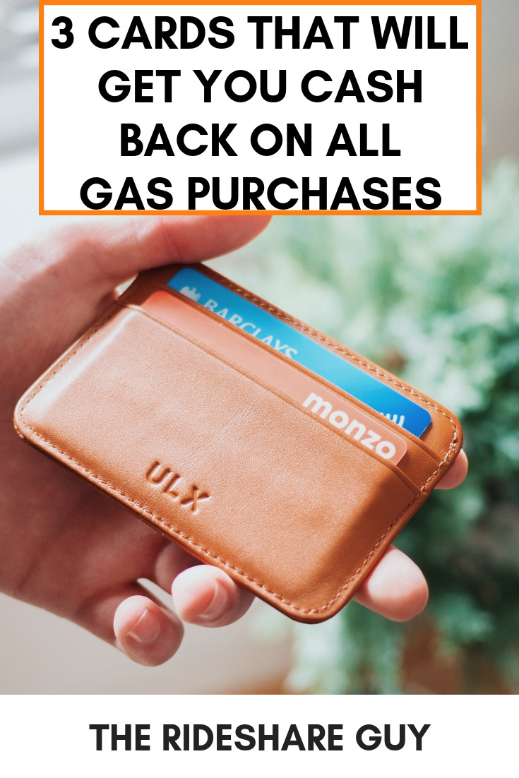 3 Cards That Will Get You Cash Back on All Gas Purchases. Gas is a big expense for rideshare drivers, & we at RSG are always looking to save money. Here are the top cards that will reward you for gas purchases. #cashbackcreditcards #cashback #cashbackapps