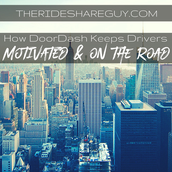 How DoorDash Keeps Drivers Motivated and On the Road