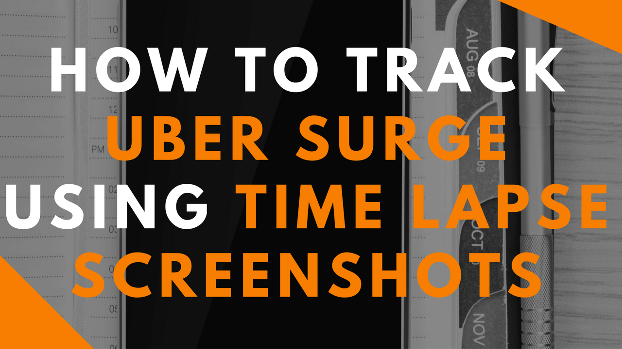 Want to know when it's really surging in your city? Jon shows us how to create an Uber surge map from his city to determine the best times to drive!