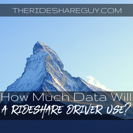 If you've ever wondered how much data a rideshare driver will use, you're not alone! Here's what we found, and what cell plans you may want to check out.