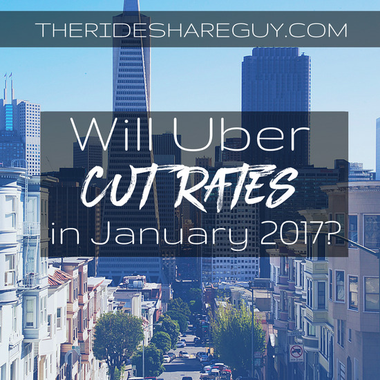 Will Uber Cut Rates In January 2017?