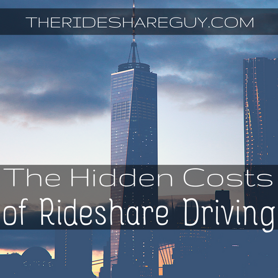 The Hidden Costs of Rideshare Driving (Infographic)
