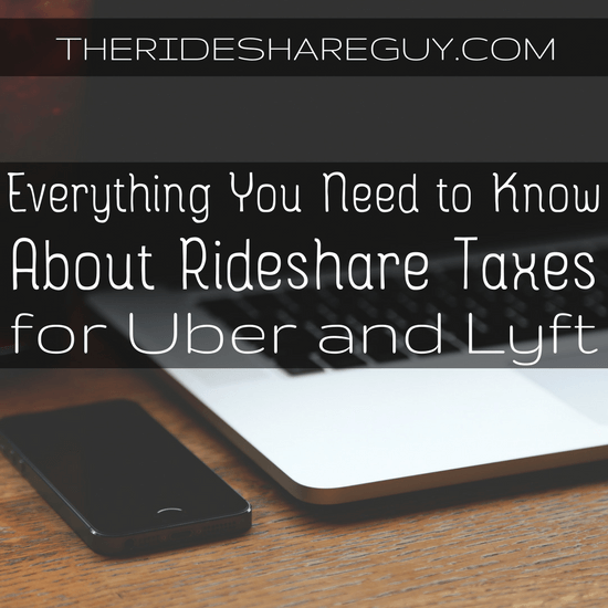 2017 Rideshare Taxes For Uber and Lyft Drivers
