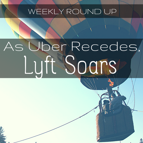 This week we cover Lyft's new increase in ridership, Uber's partnership with Daimler, and a start up suing the city of Chicago.