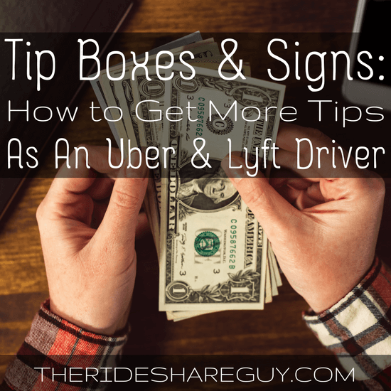 Uber Car Lease >> We've Been Testing Tip Boxes, Jars, & Signs While Driving Uber