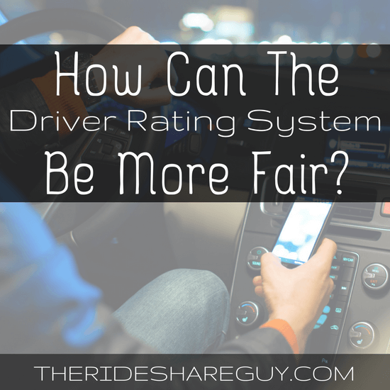 How to Fix Uber and Lyft's Rating System
