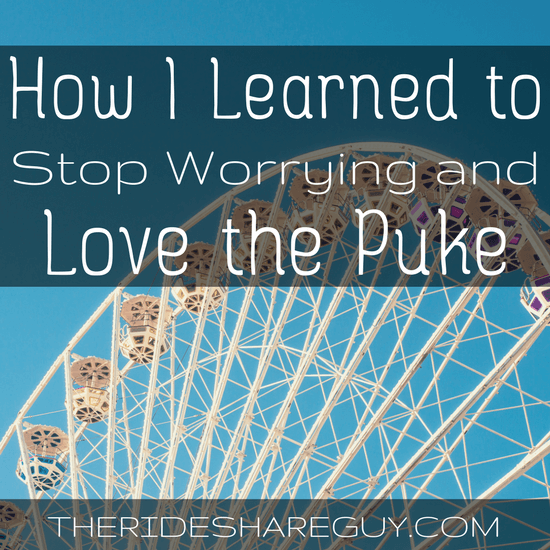 How I Learned to Stop Worrying and Love the Puke