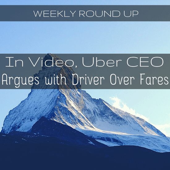 In Video, Uber CEO Argues With Driver Over Falling Fares