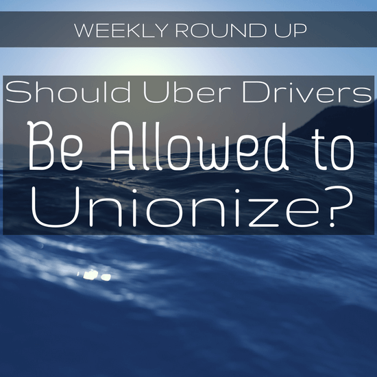 "Should Uber drivers be allowed to unionize? In this round up, Uber's clear answer is ""no"", and they go to great lengths to prevent unionizing in Seattle."