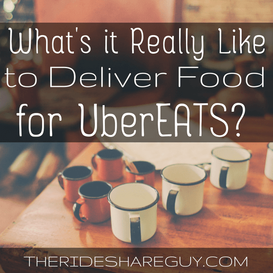 What's it Really Like to Deliver Food for UberEATS?