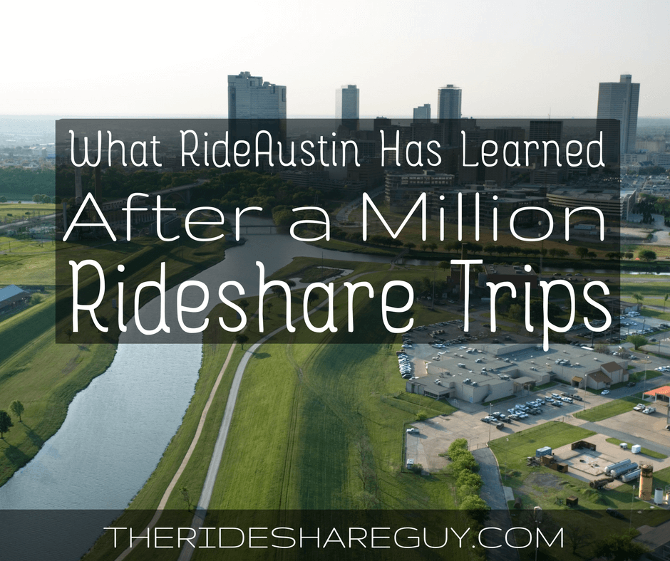 RSG055: What RideAustin Has Learned After a Million Rideshare Trips