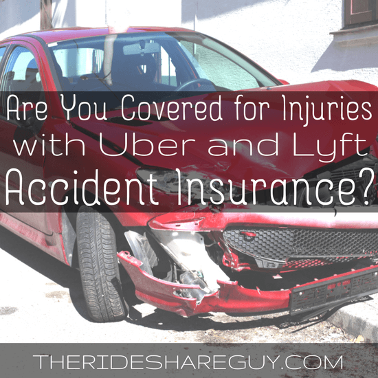 Most drivers know rideshare accident insurance will protect their car, but what if you're injured? We break down what you should know here -