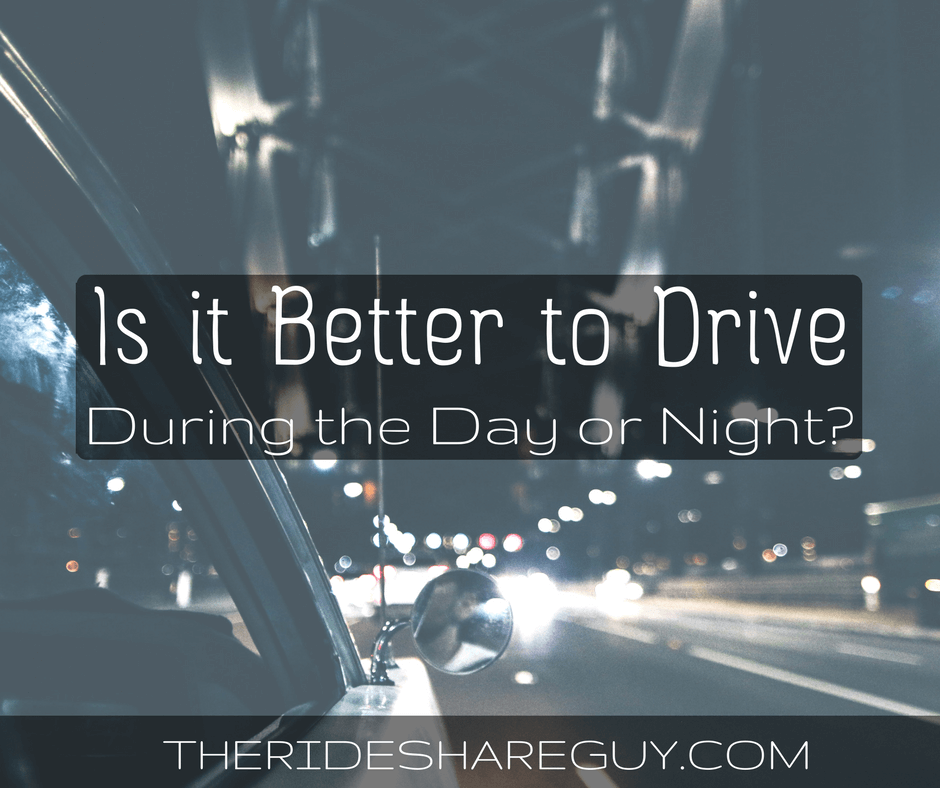 Is it Better to Drive During the Day or at Night?