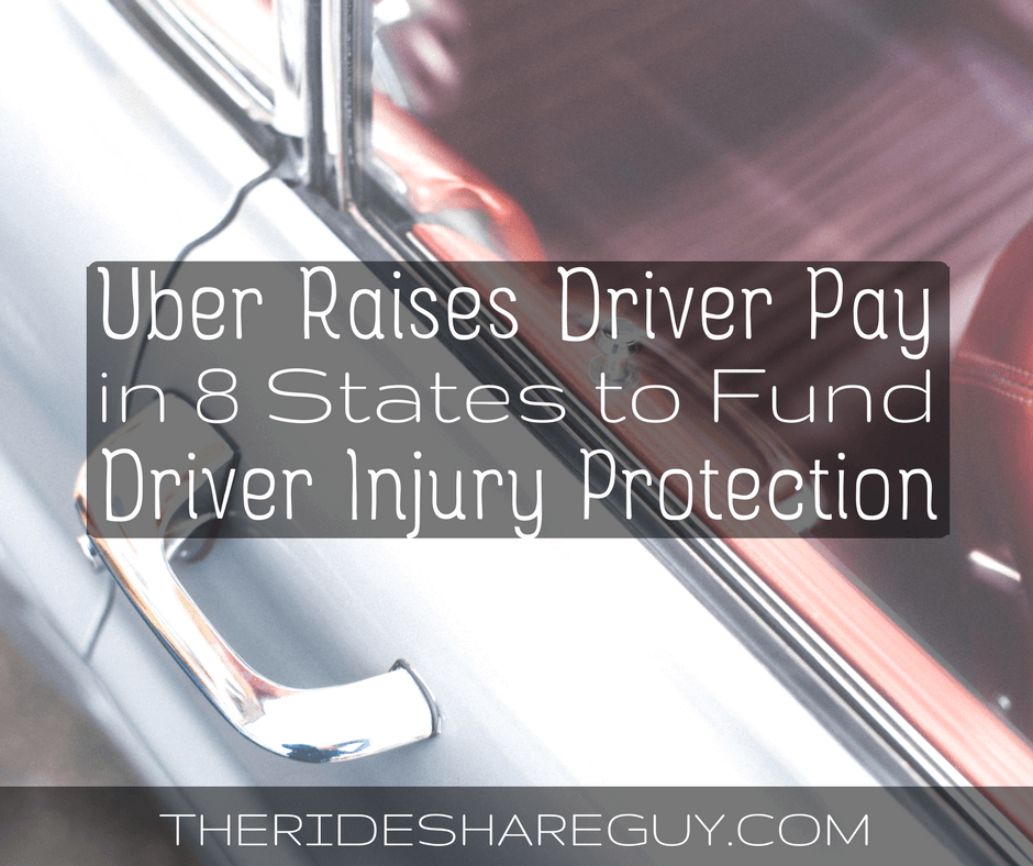 Uber Driver Injury Protection Plan is Expanding
